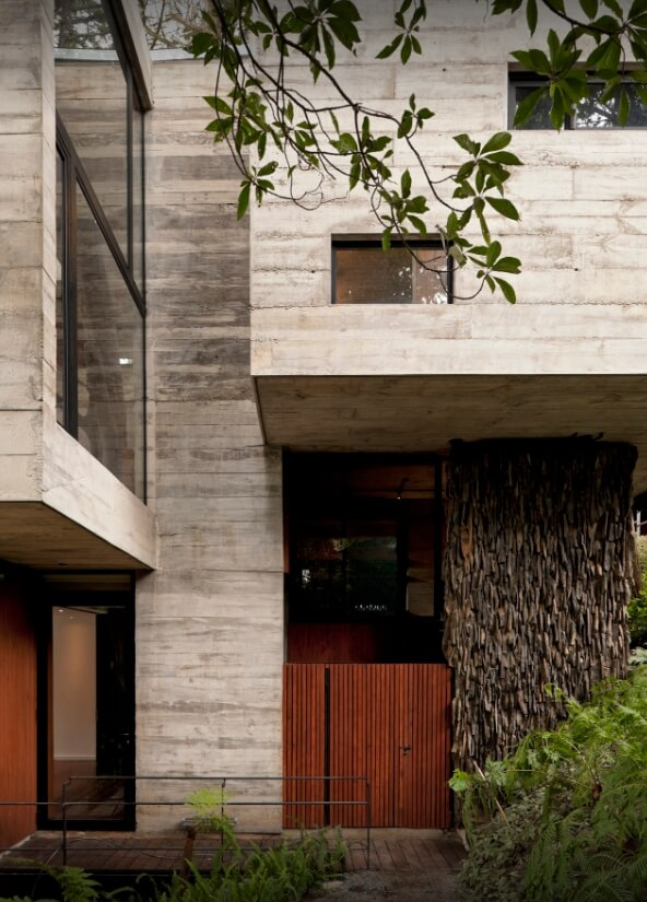Exteriores Casa Con Piedra Natural Integracion Paisaje cantabria vizcaya burgos palencia asturias madrid