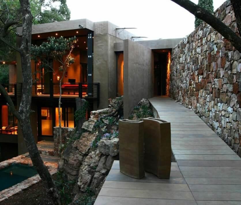 Exteriores Casa Con Piedra Natural cantabria vizcaya burgos palencia asturias madrid