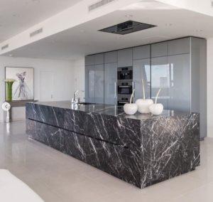 Inspiración para el uso de piedra natural en interiores